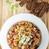 Fitness Lentil Bean Salad (7 Min, Vegan)
