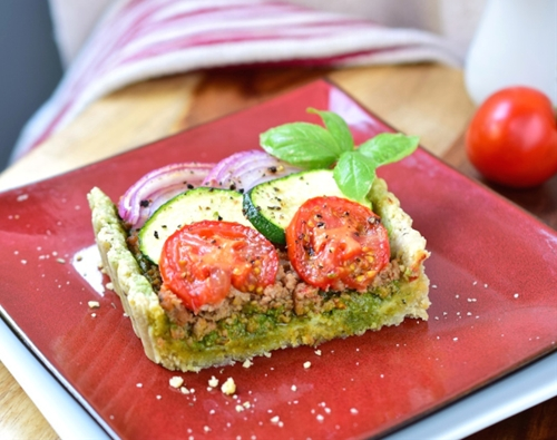 Paleo Savory Italian Tart • Great Food and Lifestyle