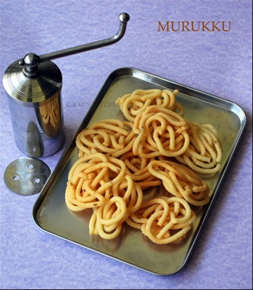 Easy potato murukku