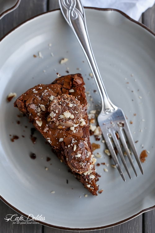 Ferrero Rocher Deep Dish Skillet Brownie Cookie