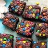 Brownie Bars + Miniature Cookie Ice Cream Cakes