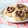 Chocolate Covered Pretzel Peanut Butter Cookies