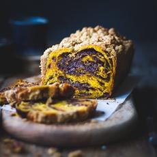Pumpkin, Rye + Chocolate Babka