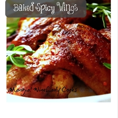 baked spicy buffalo wings | wine lady cooks