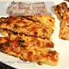Cheesy Cauliflower Bread And Pizza Slices