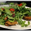 Chicken Cutlets With Spinach Arugula Salad