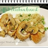 Stuffed Chicken Breast with Mushroom Gravy