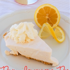 Frozen Pink Lemonade Pie Recipe