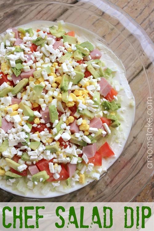 Chef Salad Dip