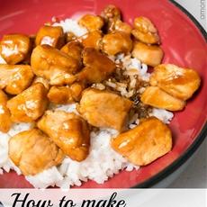 How to Make Teriyaki Chicken and Rice