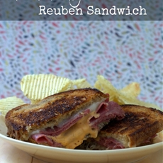 Quick and Painless Reuben Sandwich
