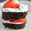 Easy Mini Heart Cake