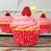 Homemade Lemon Raspberry Cupcakes