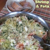 Roasted Shrimp and Feta recipe