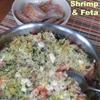 Roasted Shrimp and Feta recipe