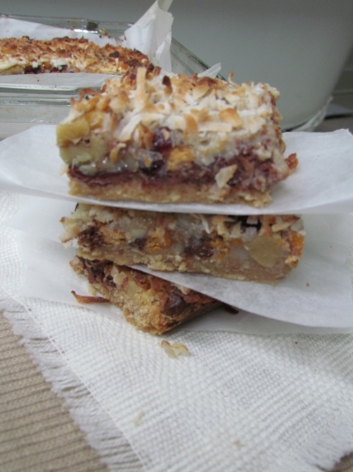 Kitchen Sink Bars, ooey gooey goodness