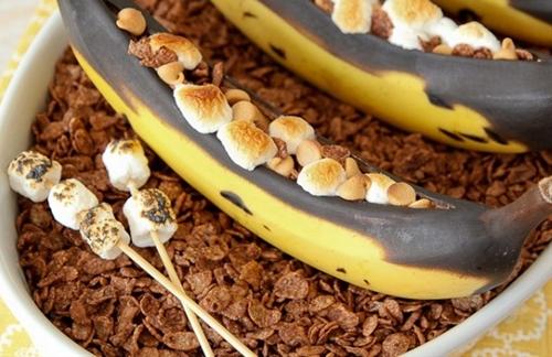 BBQd Bananas