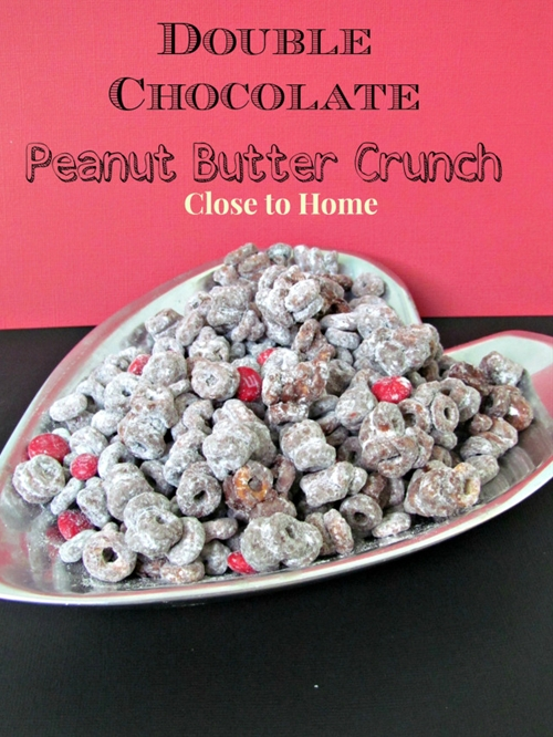 Double Chocolate Peanut Butter Cereal Mix