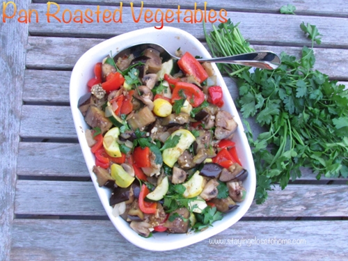 Pan Roasted Vegetable Side Dishes