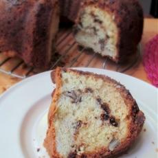Super Easy Chocolate Streusel Coffee Cake Recipe