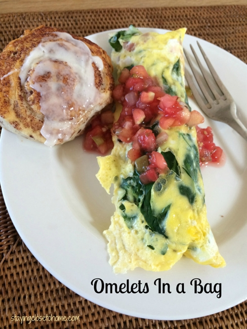 Omelet or Eggs in A Bag