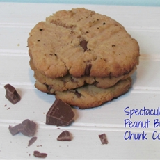 Amazing Peanut Butter Cookies with Chocolate Chunks