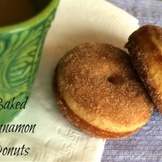 Simple Cinnamon Baked Doughnuts Recipe