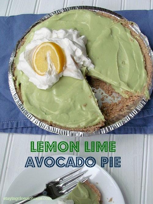 Avocado Key Lime Pie