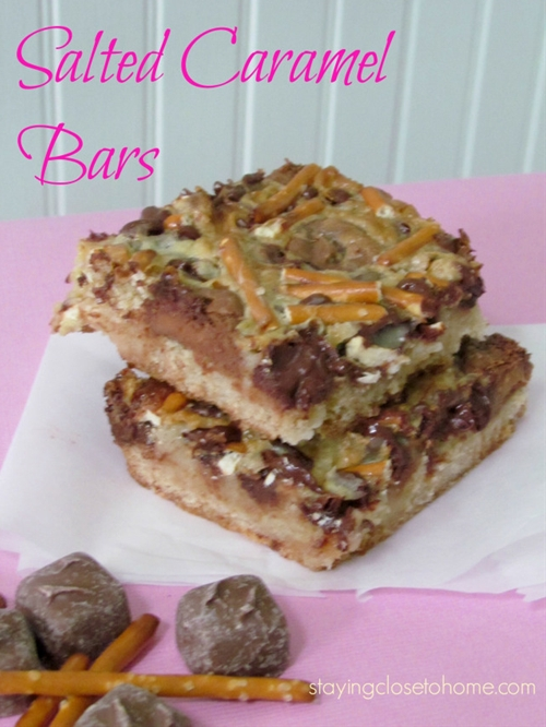 Salted caramel Bars