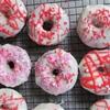 Baked Red Velvet Donuts