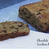 chocolate chip zucchini bread with coconut oil