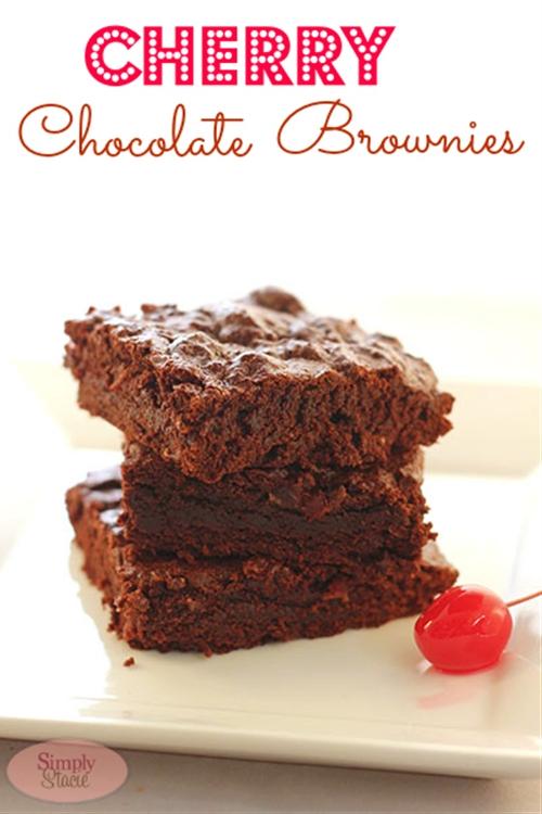 Cherry Chocolate Brownies