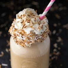 Coconut Coffee Milkshake