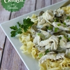 Creamy Garlic Chicken with Noodles