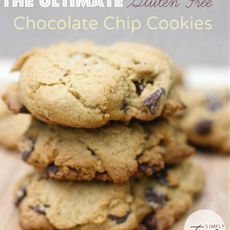 Ultimate Gluten Free Chocolate Chip Cookies