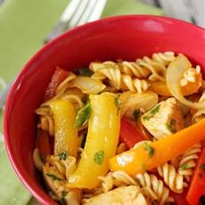 Chicken Fajita Pasta Salad