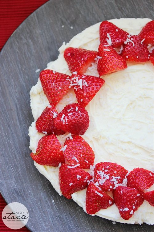 Strawberry No-Bake Cheesecake