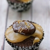 Peanut Butter Brownie Cupcakes