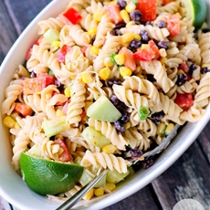Jalapeno Ranch Pasta Salad
