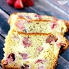 Cream Cheese Stuffed Strawberry Bread