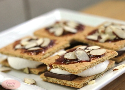 Chocolate Raspberry Smores