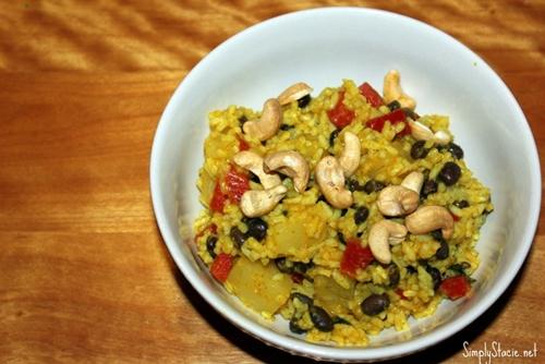 Jamaican Curried Rice