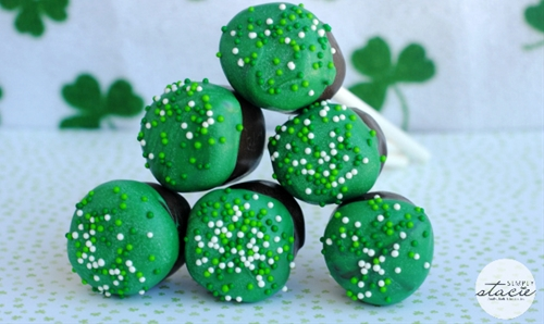 St. Patricks Day Marshmallows