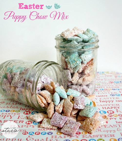 Easter Puppy Chow Mix
