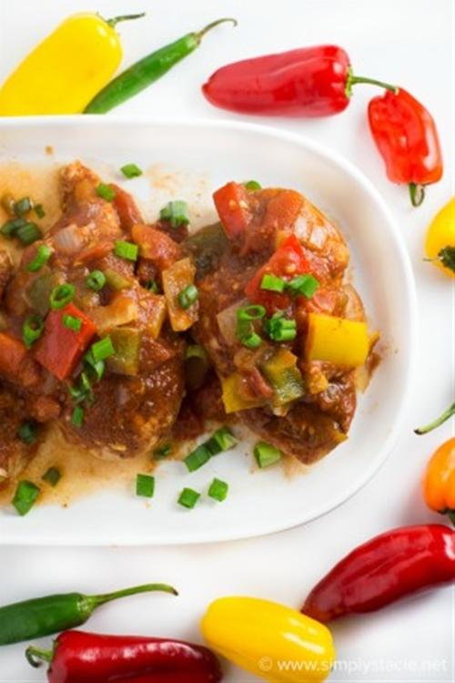 Spicy Pepper Chicken
