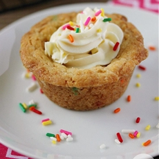 Birthday Cookie Cups
