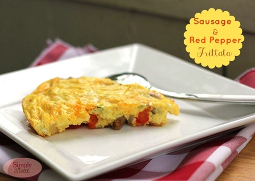 Sausage & Red Pepper Frittata