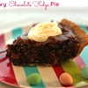 Chewy Chocolate Fudge Pie