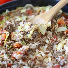 Cabbage Roll Rice