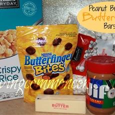 Peanut Buttery Butterfinger Bars (Nestle Butterfinger Bites)